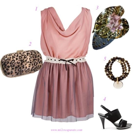 Invitada en rosa www.mi2escaparate.com